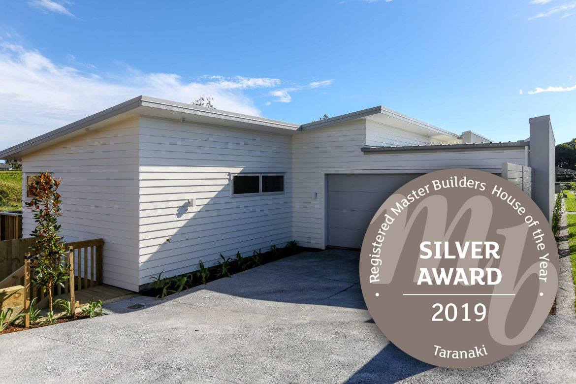 GC Building New Plymouth - House of the Year Silver award